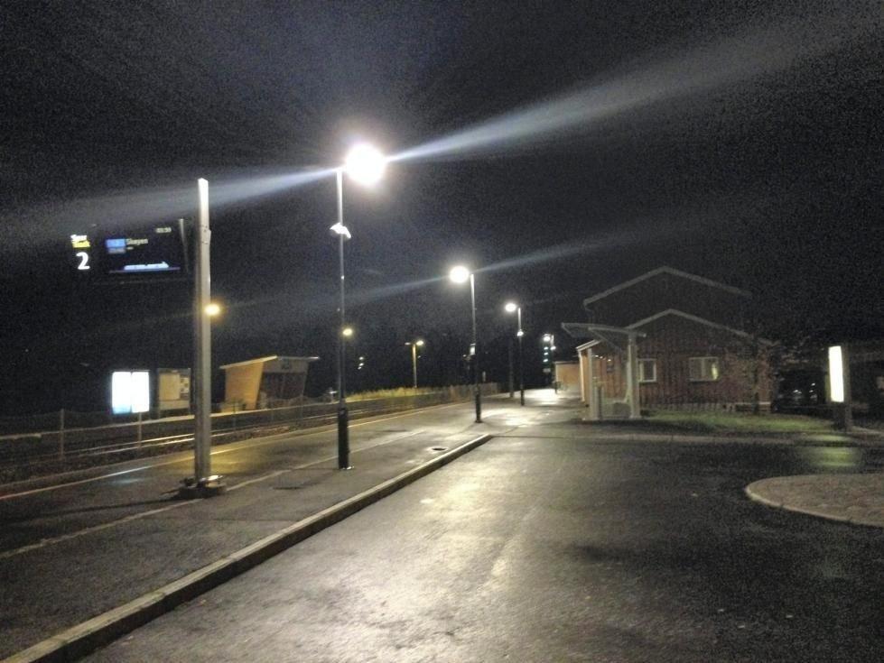 En kvinne fra Follo ble natt til onsdag overfalt ved Langhus stasjon i Ski kommune.
