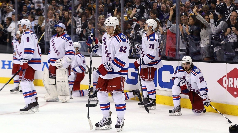 SLO 28 AV 29 LAG I FJOR: New York Rangers kom til Stanley Cup-finalen forrige sesong.