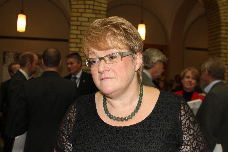 SKUFFET: Venstre-leder Trine Skei Grande sier hun hadde forventet mer av regjeringen i Statsbudsjettet.
