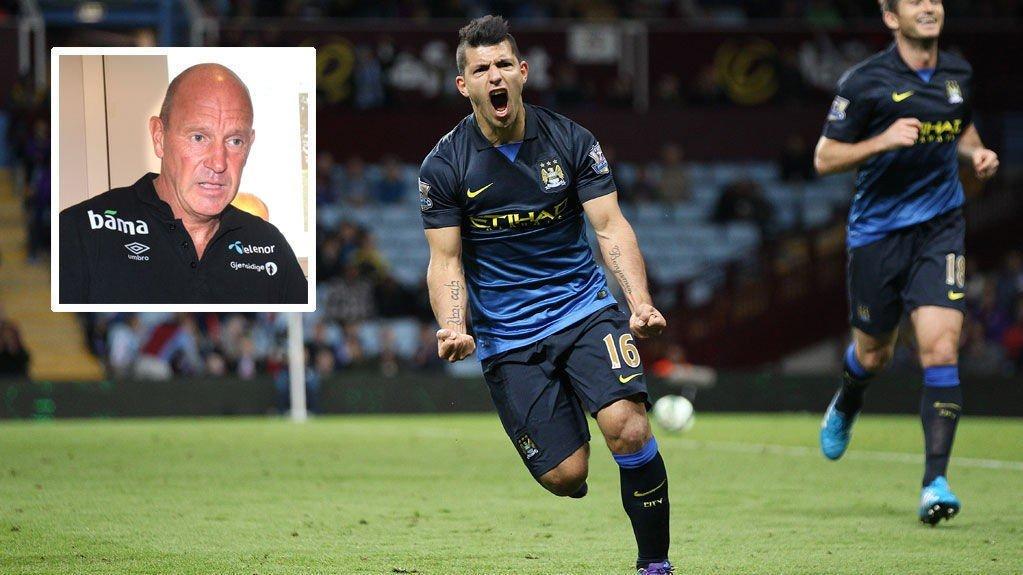 VIL HA MUSKLER: Toppfotballsjef Nils Johan Semb trekker fram Sergio Agüero msom et eksempel.
