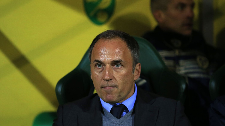 Darko Milanic og Leeds tapte lørdag 1-2 hjemme mot Wolverhampton. Det var det siste sloveneren gjorde som manager i den tidligere storklubben.