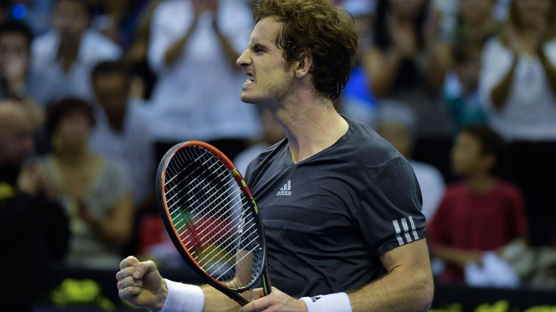 VANT: Britiske Andy Murray kunne juble for seier mot hjemmefavoritt David Ferrer.