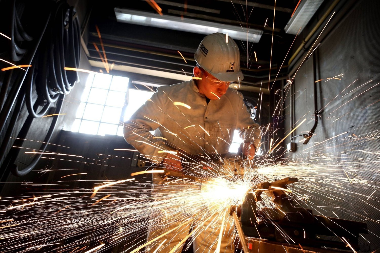SKADELIG: Nikkel og krom, som man blir eksponert for blant annet ved sveising på rustfritt stål, kan være kreftfremkallende.