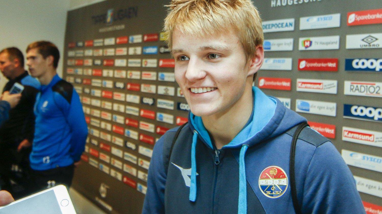 ETTERTRAKTET: Martin Ødegaard skal være sterkt ønsket av verdens beste klubber.