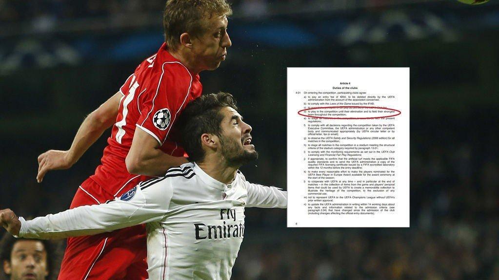 I TRØBBEL? Liverpool brukte et reservepreget lag mot Real Madrid. Det er ikke lov i Champions League.