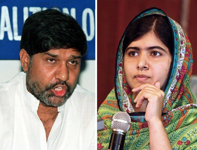 Indiske Kailash Satyarthi (60) og pakistanske Malala Yousafzai (17) får Nobels fredspris for 2014 for sin kamp mot undertrykkelse og for barns rett til utdanning.