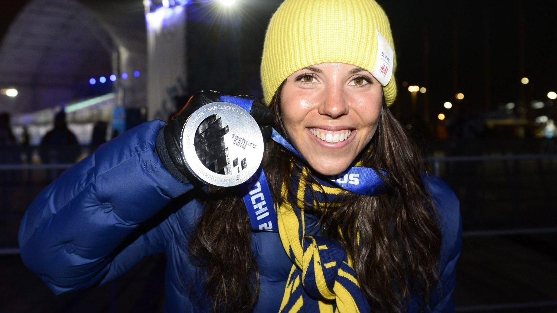 FIKK SPESIELT RÅD: Charlotte Kalla fikk noen pekepinner av Bjørn Ferry om hva som kunne gjøre henne frisk under OL.