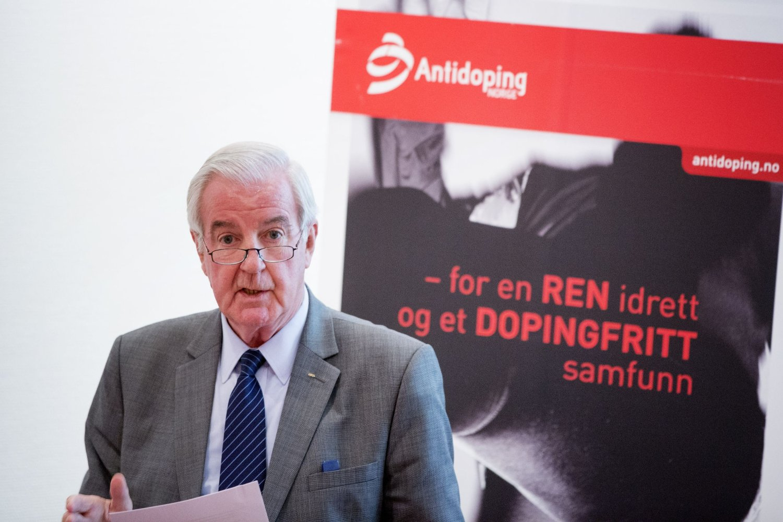 PÅ OSLO-BESØK: Sir Craig Reedie er i Oslo for å møte blant andre Antidoping Norge.