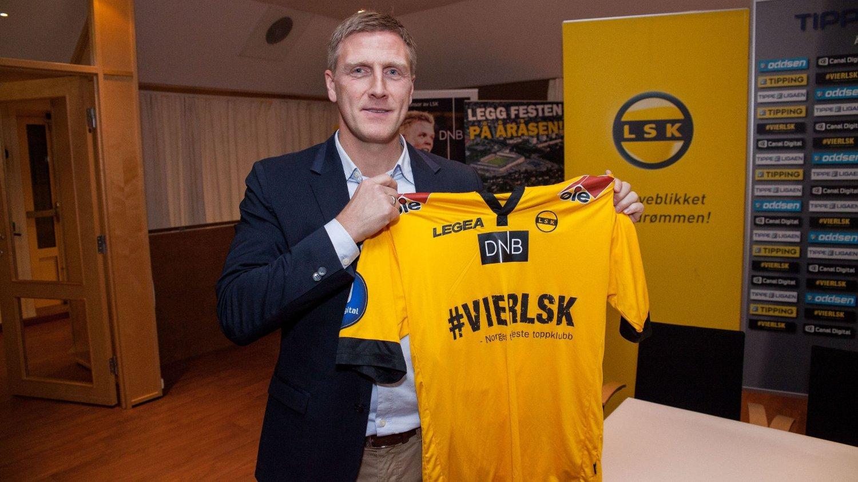 FIKK DRØMMEJOBBEN: Runar Kristinsson var en stor helt som LSK-spiller. Nå skal han prøve å bli det samme som trener.