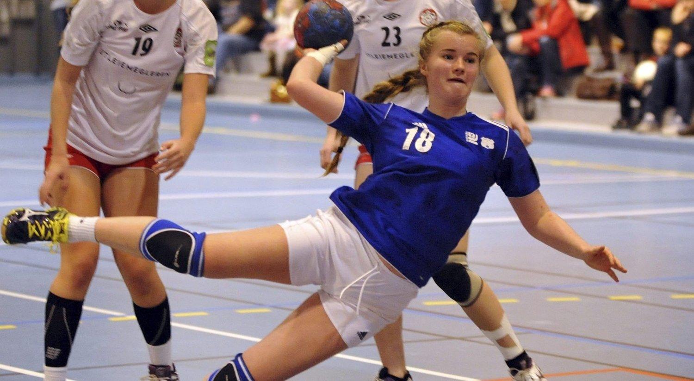 GOD: Kaja Dieset var god mot Skedsmo og scoret fem mål. Alle Foto: Solfrid Therese Nordbakk