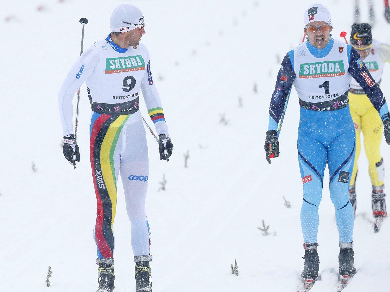 BEST: Petter Northug fant tilbake til vinnermentaliteteten på søndagens sprint.