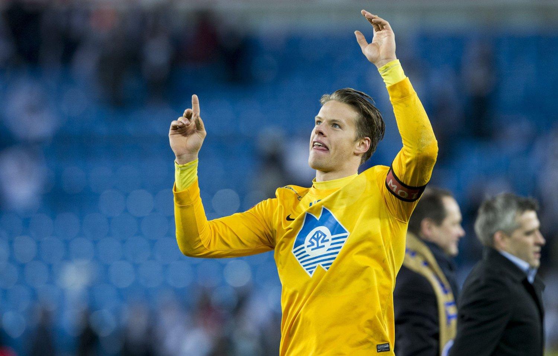 IMPONERER I MOLDE: Ørjan Nyland har gjort sine saker meget bra i Molde, og kobles til Manchester United i engelsk presse.