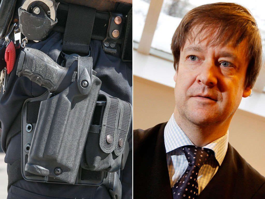 Advokat John Christian Elden håper den midlertidige bevæpningen av norsk politi varer så kort som mulig.
