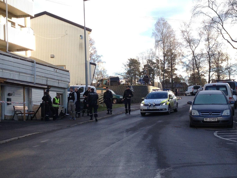 LØYPEVEIEN: En mann er kritisk skadet etter å ha blitt skutt på Oppsal.