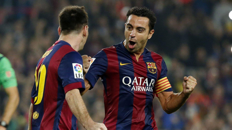 CELTIC-BEUNDRER: Barcelona-stjernen Xavi er en stor fan av Celtic-fansen.