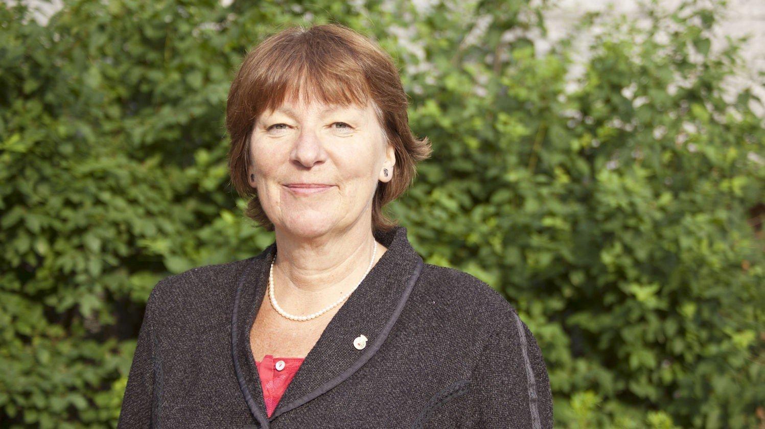 BER BYRÅDEN TA GREP: SVs gruppeleder i Oslo, Marianne Borgen, mener at byråd for helse og sosiale tjenester i Oslo, Øystein Søreide, bør stoppe.