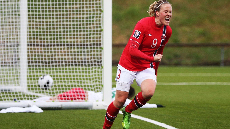 1-1: Isabell Herlovsen ordnet uavgjort for Norge mot New Zealand.