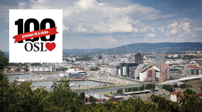 dittOslo-redaksjonen gir deg 100 grunner til å elske Oslo.