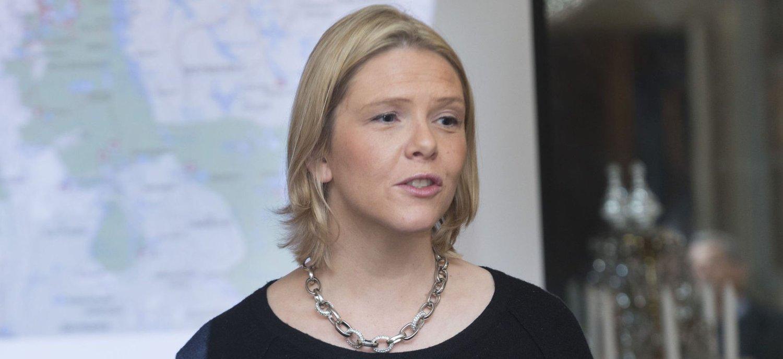 HET DEBATT: Landbruks- og matminister Sylvi Listhaug (Frp) ....