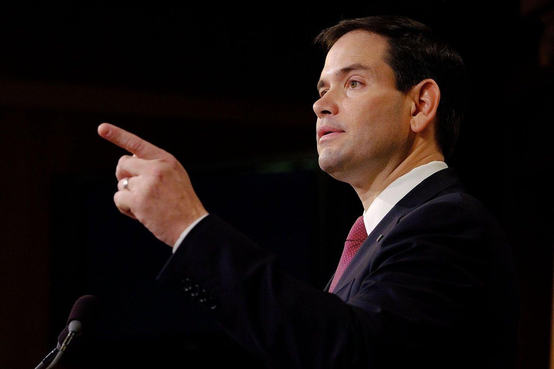 Potensiell presidentkandidat Marco Rubio er sterk motstander av at isfronten mellom USA og Cuba skal tine.
