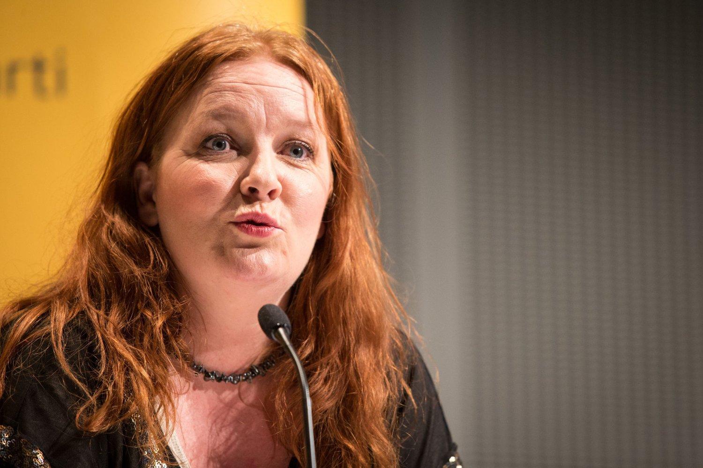 STÅR PÅ VIDERE: KrFs Dagrun Eriksen vil fortsette i KrF-ledelsen.