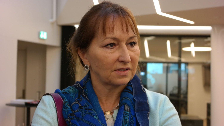 INGEN TALL: Styreleder Gunn Marit Helgesen i KS vil ikke være med på noen talldebatt om antall kommuner i Norge.