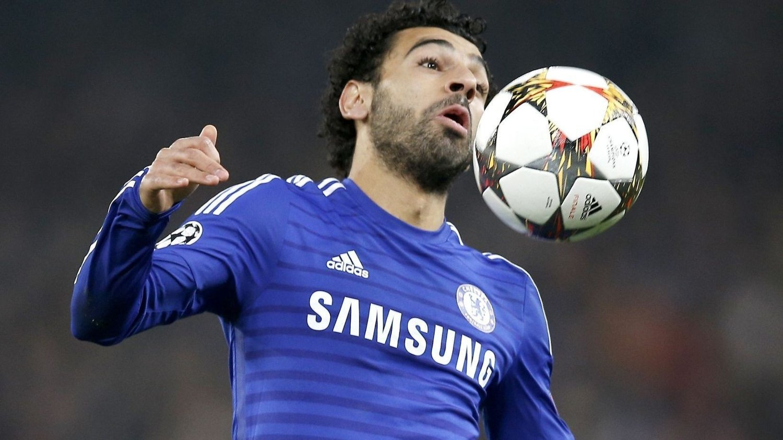 PÅ VEI TIL ROMA: Mohamed Salah.