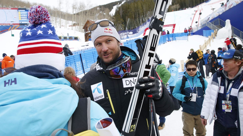 STILLER: Aksel Lund Svindal er offensiv før torsdagens super-G-renn.