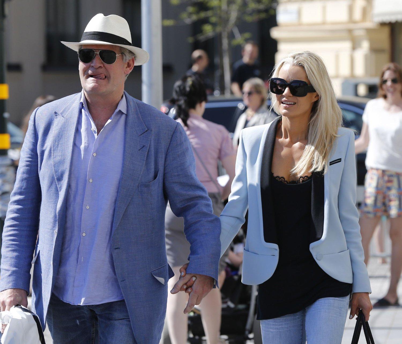 Celina Midelfart og Tor Olav Trøim inngikk forlik med amerikansk eks-hushjelp. Her på prinsesse-brullyp i Stockholm i 2013.