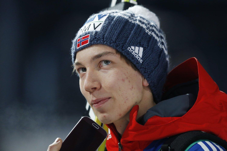 Johann Forfang tok gull i junior-VM. FOTO: NTB scanpix