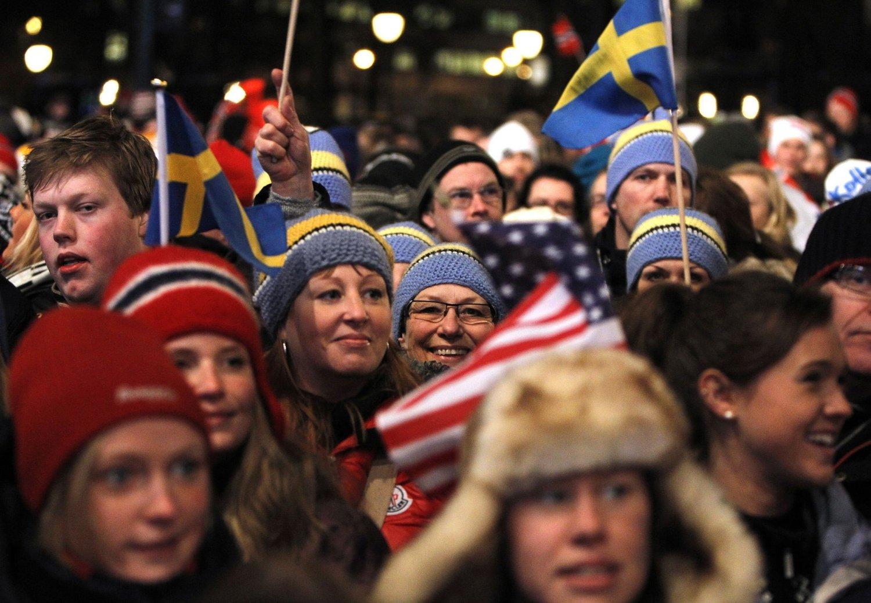 RIVES VEKK: Billettene til ski-VM i Falun i Sverige rivies vekk. Nå er over 15.000 billetter solgt. Bildet er tatt under ski-vm i Oslo i 2011.