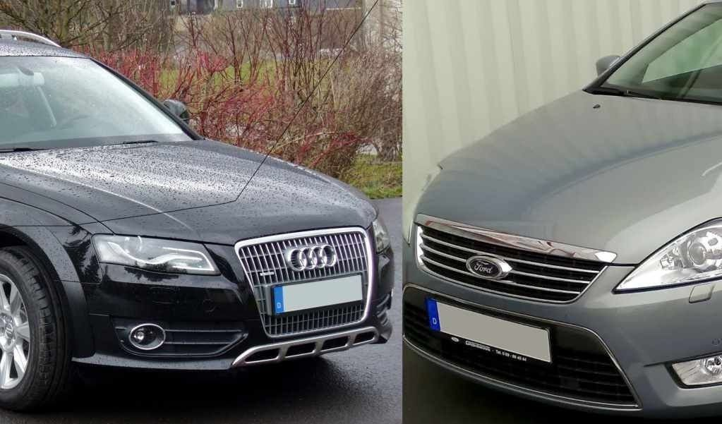 Audi A4 behøver nesten aldri veihjelp, mens Ford Mondeo har hyppige havari - mellom 3 og 5 ganger så ofte, avhengig av årsmodell.