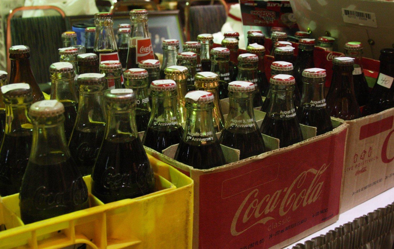 SLUTT: Fra nå av produseres ikke lenger pantbare Coca Cola-flasker i glass.