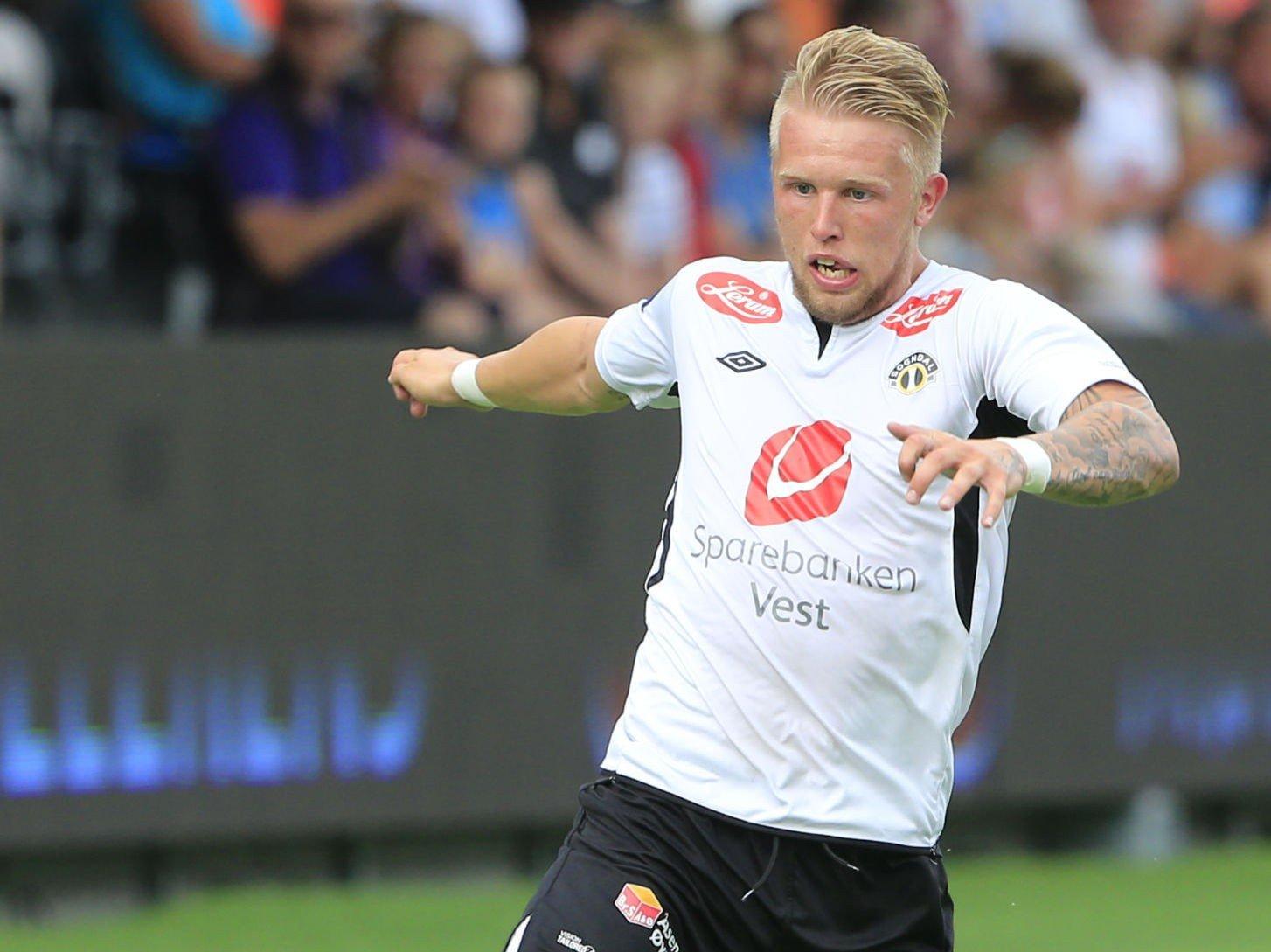 MJØNDALEN: Tim Andre Nilsen er klar for Tippeliga-spill igjen.