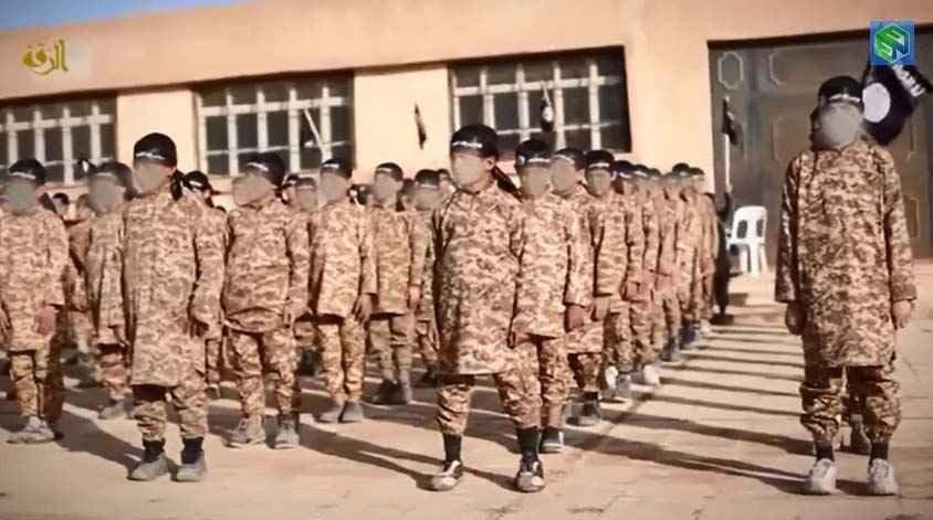 BARNESOLDATER: Ny propaganda-vido fra IS viser barnesoldater.