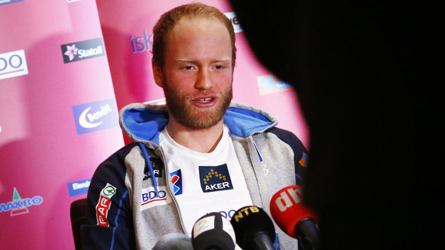 FIKK NEI: Martin Johnsrud Sundby ville gå stafetten. Det sa landslagsledelsen nei til.