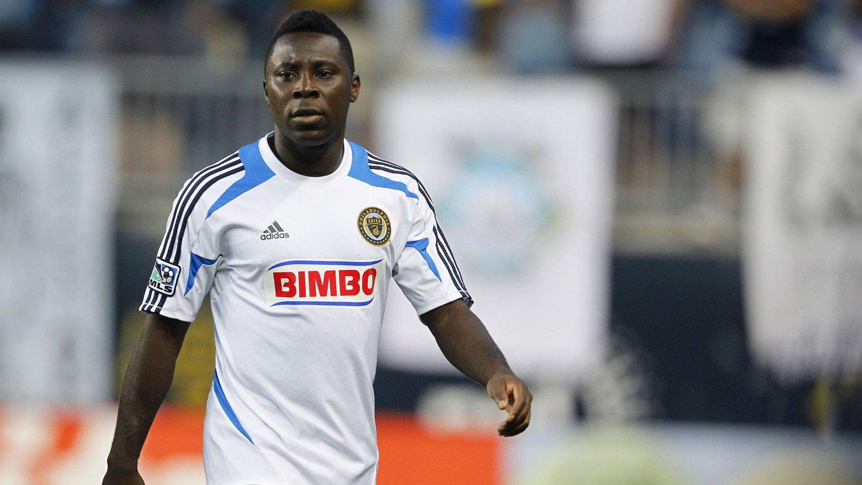 FOTBALLSPILLER: Ryktene gikk om at Freddy Adu hadde lagt opp som fotballspiller for å være nattklubbpromotør. Det var feil. FOTO. Getty Images