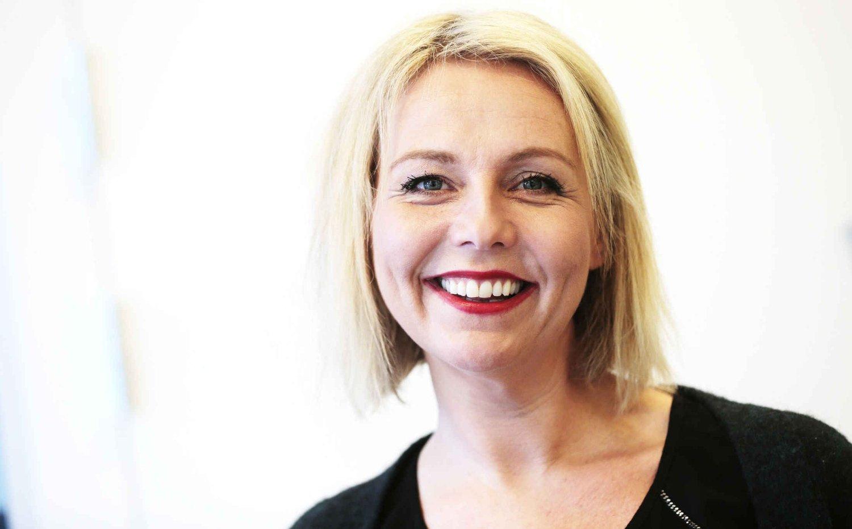 KLAR FOR NORSKE TALENTER: Linn Skåber gleder seg til å begynne i ny jobb.