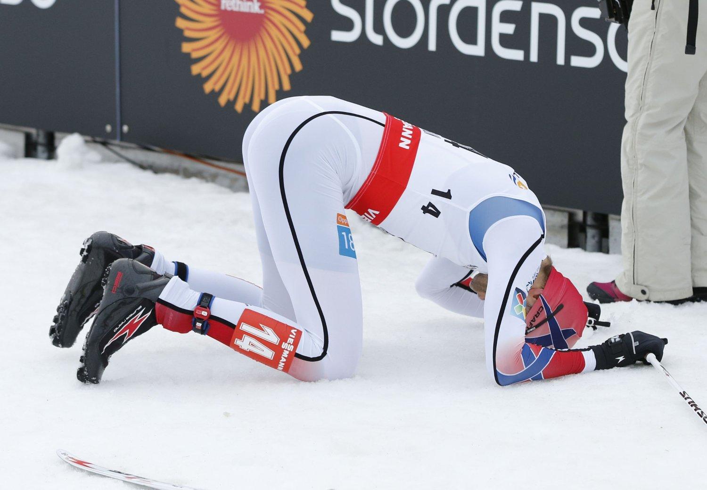 BESTE NORSKE: Magnus Moan var beste nordmann, torsdag.