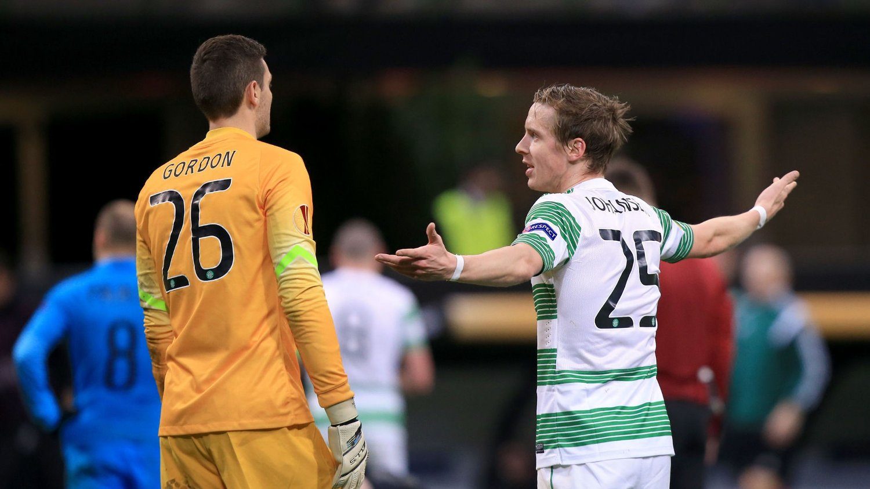 OPPGITT: Stefan Johansen og Celtic er ute av Europa League.