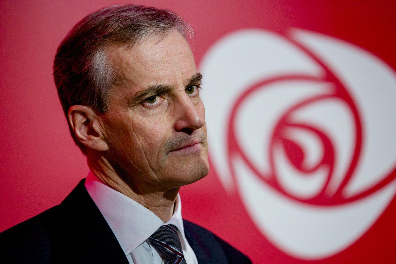 Ap-leder, Jonas Gahr Støre, må registrere nedgang på siste meningsmåling.