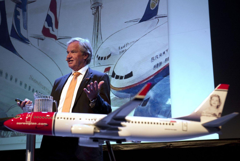 Norwegian-sjef Bjørn Kjos kommer aldri til å akseptere at rettighetene til norske piloter blir eksportert til resten av verden.