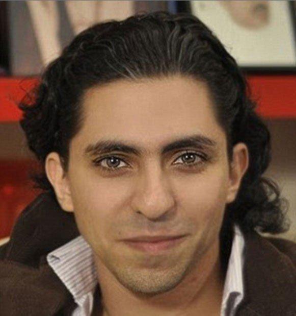 Den saudiarabiske bloggeren Raif Badawi.