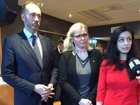 Trond Giske, Kjersti Stenseng og Hadia Tajik blir Arbeiderpartiets nestledere dersom valgkomiteen får viljen sin.