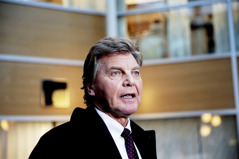 Styreleder Bjørn Kise i Norwegian kommenterte mandag ettermiddag streiken.