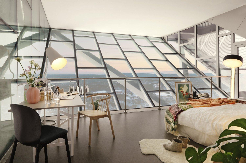 Ikke mange kan skilte med denne utsikten over Oslo - men nå kan den bli din.