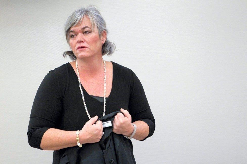 FORNØYD: Bistandsadvokat Aina Tvengsberg.
