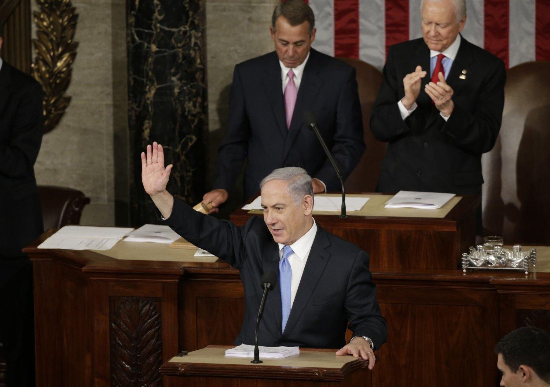 Benjamin Netanyahus opptreden i Washington har ikke falt i god jord hos mange demokrater. I Kongressen ble han derimot mottatt med jubel av republikanerne.