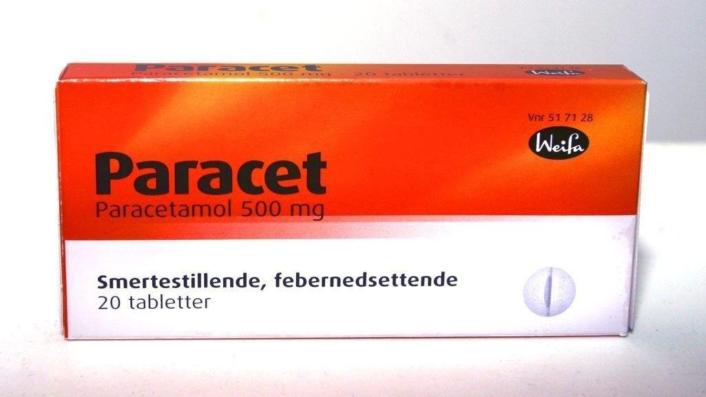 BIVIRKNINGER: En ny britisk studie antyder at bivirkningene av paracetamol er undervurderte, men Statens legemiddelverk er uenig.