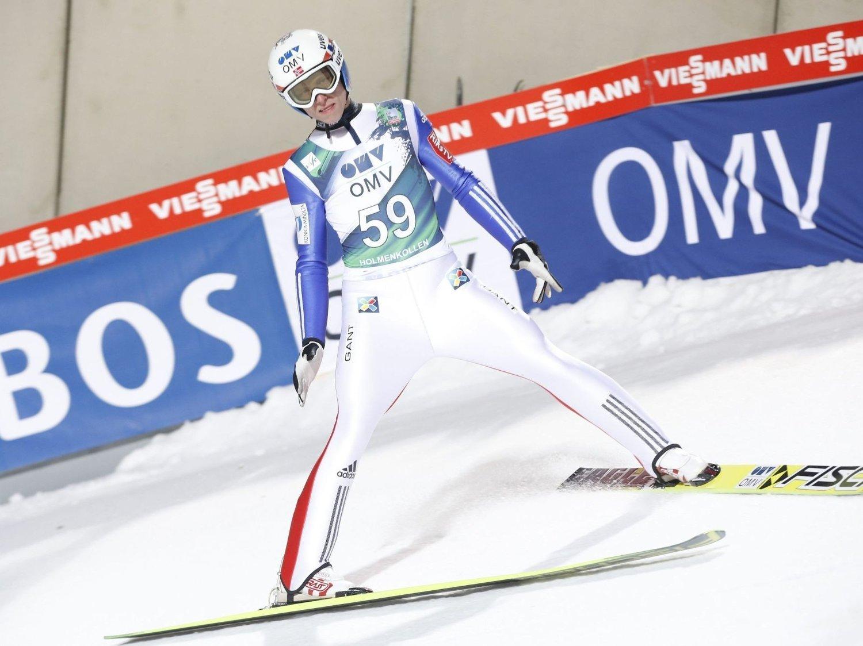 STABIL: Rune Velta ble nok en gang beste nordmann da verdenscupen flyttet seg til Holmenkollen.